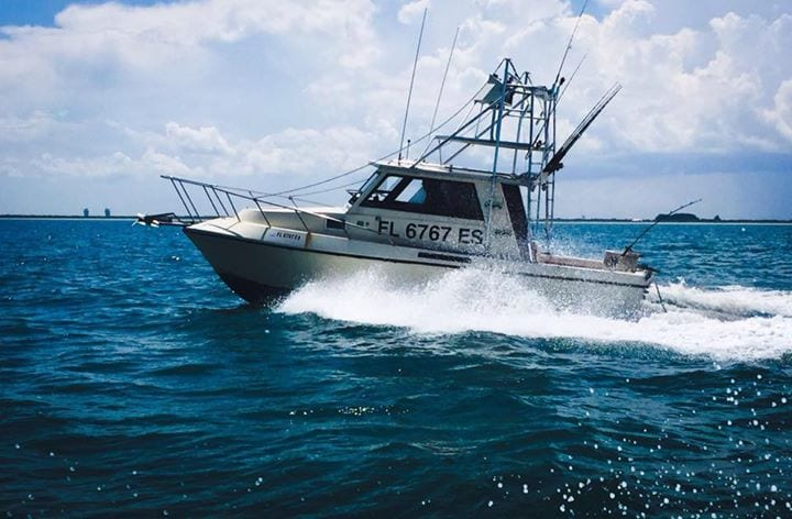 knights quest charter fishing boat