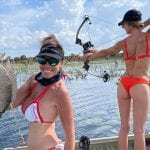 bowfishing from airboat for tilapia