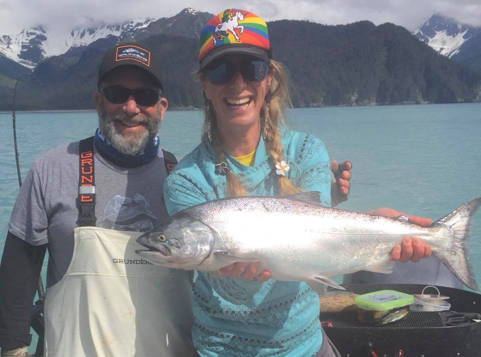 Captain Andy has been running hard and catching Silvers, nic...