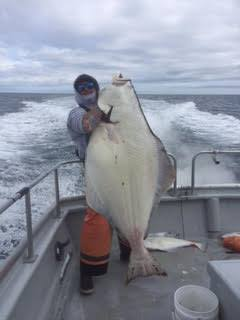 Fishing has been GOOD! Salmon and Halibut are in full force....
