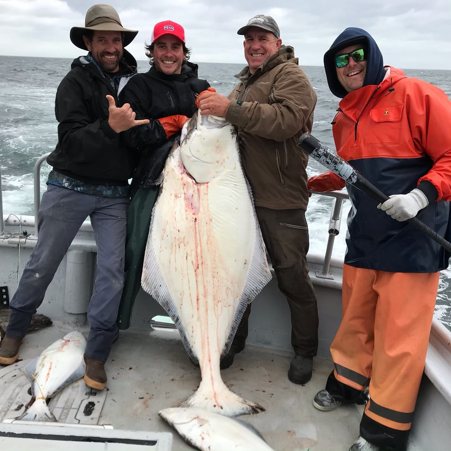 Fishing is off the hook. Were having so much fun #halibut #a...