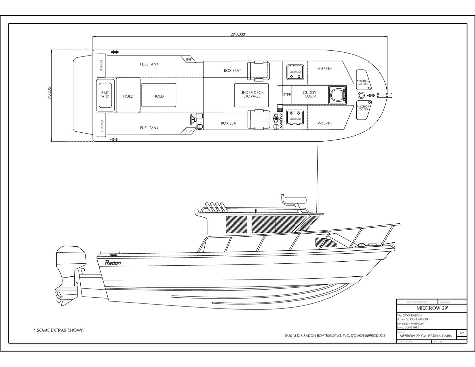 Our new Custom Don Radon, salmon boat is coming along nicely...
