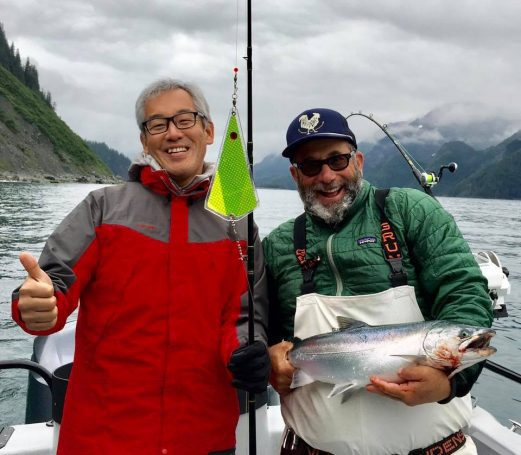 The Silver Salmon are showing up in good numbers and early t...