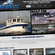 boat builder website design