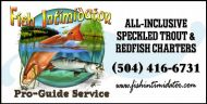 Fish Intimidator sign