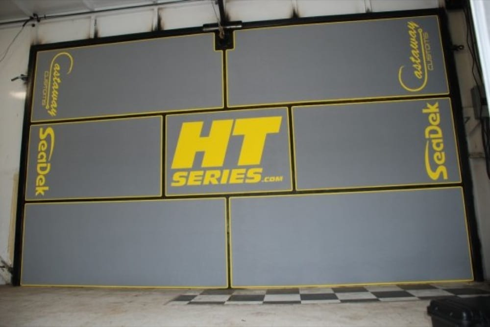 The HT Series stage after the SeaDek install