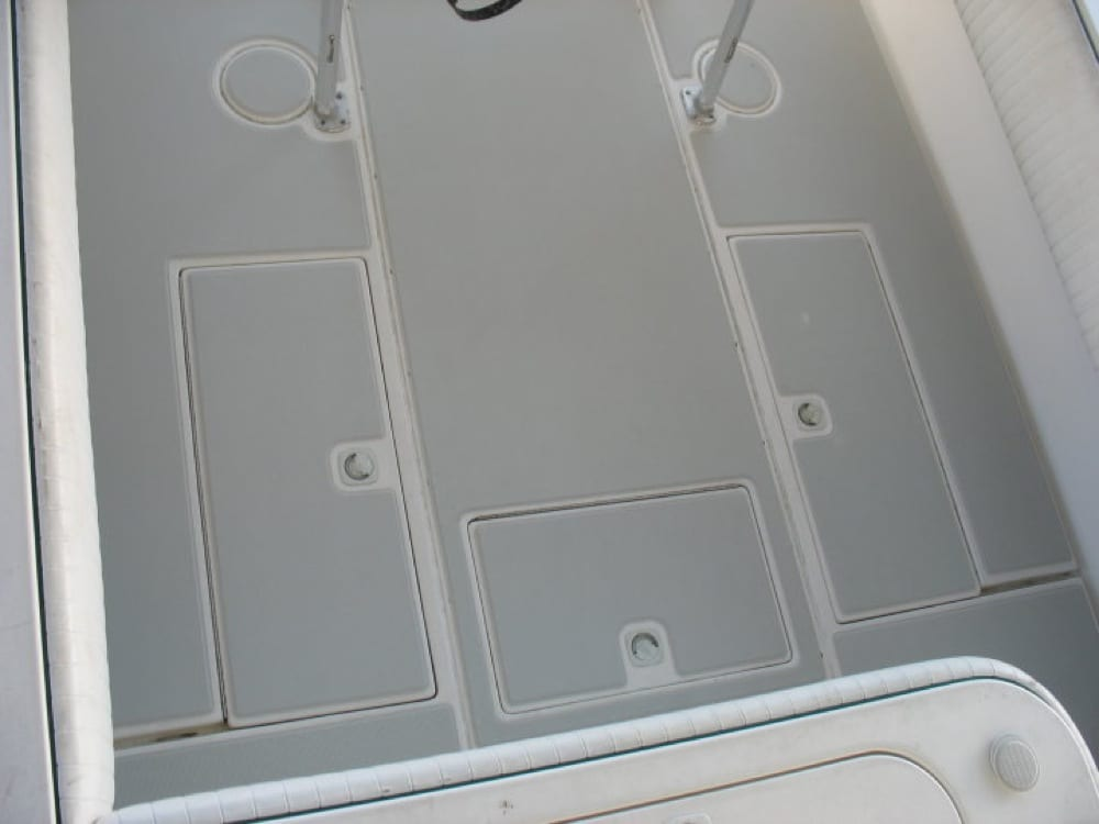 A new comfortable safe cockpit for fishing