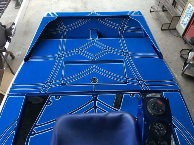 Castaway Customs Diamondback Airboats Custom SeaDek Airboating Airboat Decking