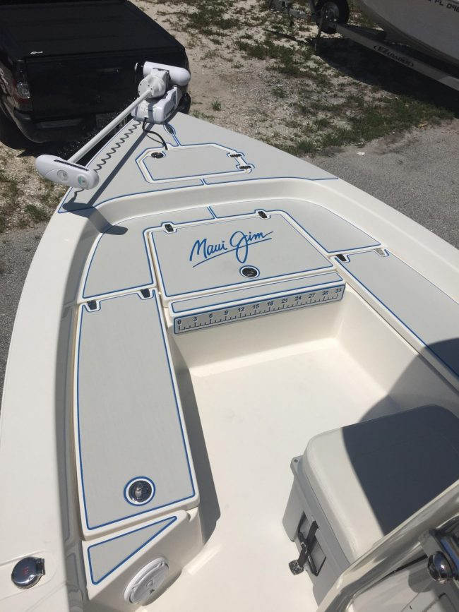 Castaway Customs Pathfinder Bay Boat Custom SeaDek Marine Flooring