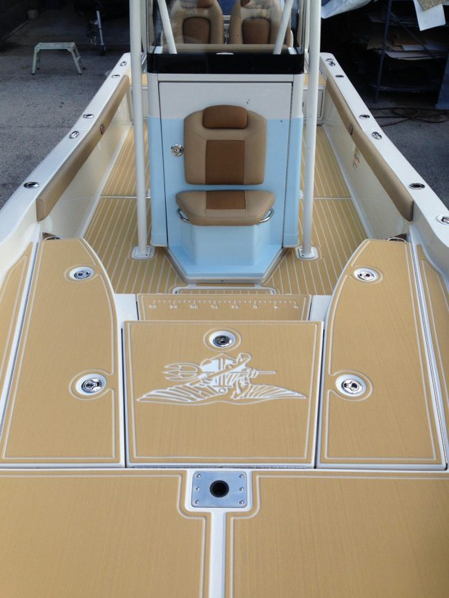 Castaway Customs 2310 Ranger Bay Boat Custom SeaDek Marine Flooring