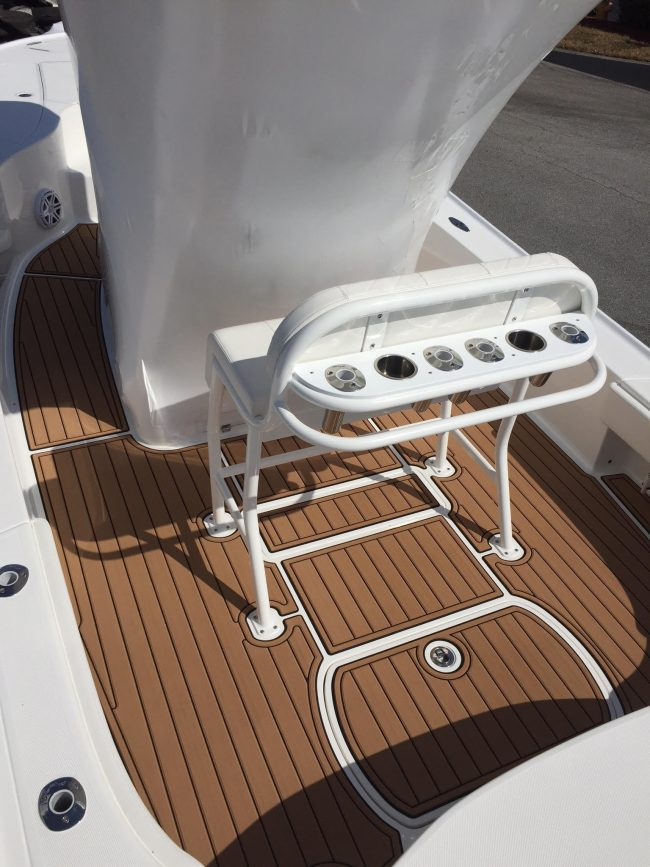 Castaway Customs Sea Vee Bay Boat Custom SeaDek Marine Flooring