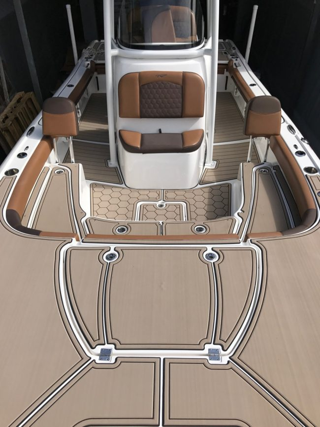 Castaway Customs Tidewater Carolina Bay Boat Custom SeaDek Marine Flooring