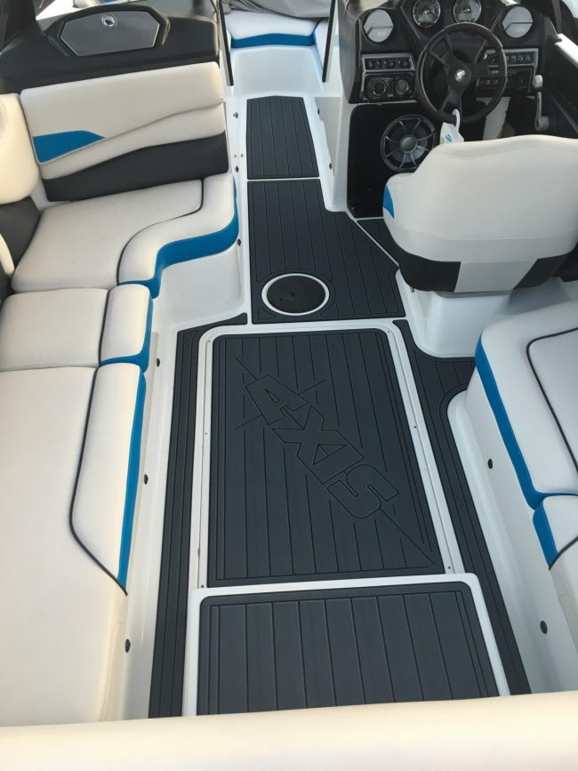 Castaway Customs AXIS Wake Boat Custom SeaDek Marine Flooring