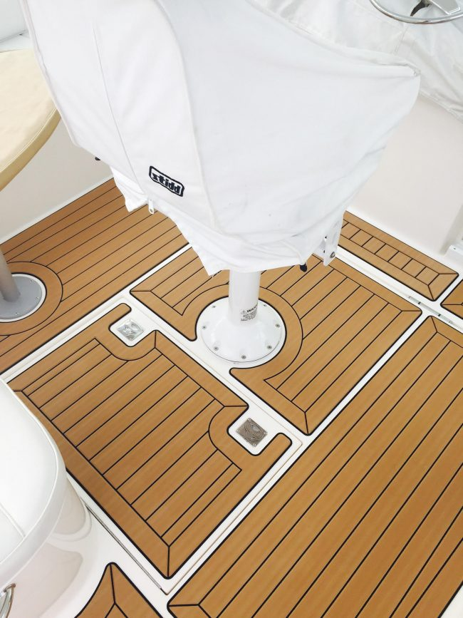 Castaway Customs Cabo Yatchs Custom SeaDek Marine Flooring