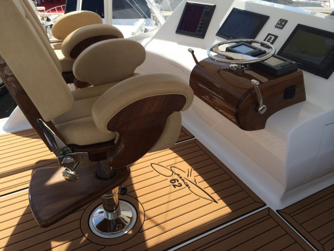 Castaway Customs Spencer Yatchs Custom SeaDek Marine Flooring