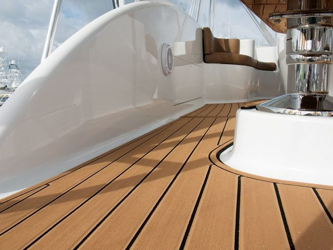 Castaway Customs Spencer Yatchs Boat Custom SeaDek Marine Flooring